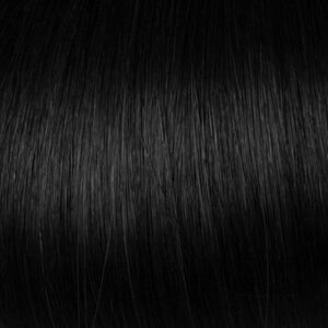 Jet Black Clip-in Hair Extensions #1